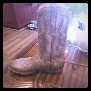 Lucchese brand new in box mens 10.5 boots